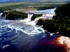 Canaima lagoon and the falls